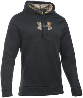 Under Armour Men's Franchise Caliber Hoodie, Black, hi-res