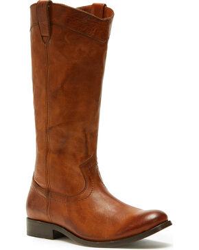 Frye Women's Cognac Melissa Pull On Boots - Round Toe , Cognac, hi-res