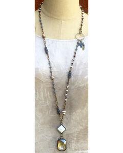 InspireDesigns Women's True Spirit Iron Works Necklace , White, hi-res