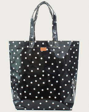 Consuela Women's Legacy Black Dot Grocery Bag, Black, hi-res