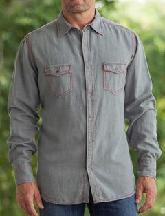 Ryan Michael Men's Birdseye Dobby Shirt, , hi-res