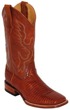 Ferrini Men's Teju Lizard Exotic Western Boots - Square Toe, , hi-res