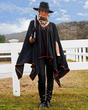 Tasha Polizzi Women's Black Greylock Poncho , Black, hi-res