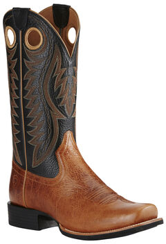 Ariat Men's Tan Cutter Classic VX Boots - Square Toe, Tan, hi-res