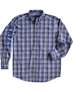 Ariat Men Brookwood Plaid Pro Series Classic Logo Shirt, Multi, hi-res