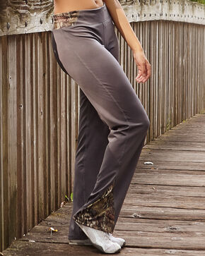 Wilderness Dreams Mossy Oak Break-Up Country Gunmetal Gray Active Pants, Gunmetal, hi-res