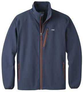 Mountain Khakis Men's Maverick LT Softshell Jacket, Navy, hi-res