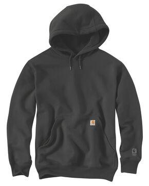 Carhartt Rain Defender Paxton Heavyweight Hooded Sweatshirt, Bark, hi-res