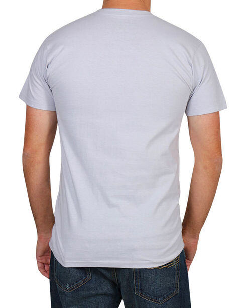 Moonshine Spirit Men's Grit and Grim Short Sleeve T-Shirt, Grey, hi-res