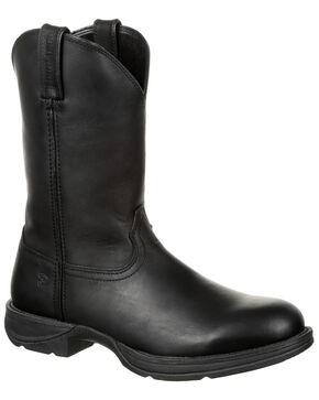 Durango Men's Rebel Western Boots - Round Toe, Black, hi-res