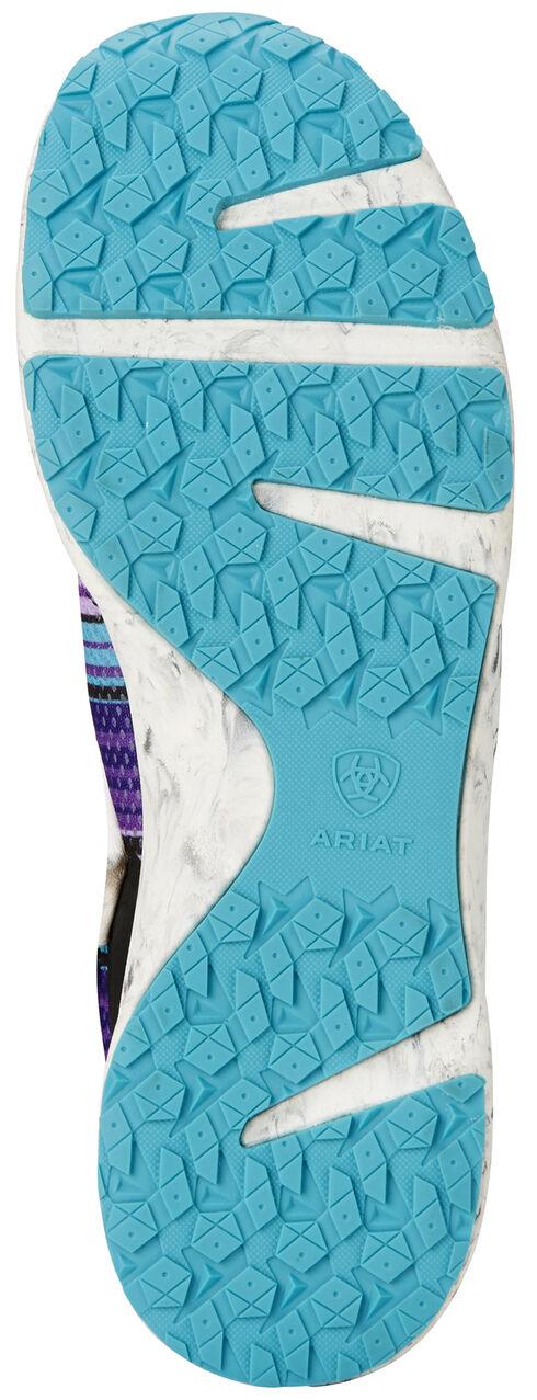 Ariat Women's Purple Fuse Serape Shoes, Purple, hi-res
