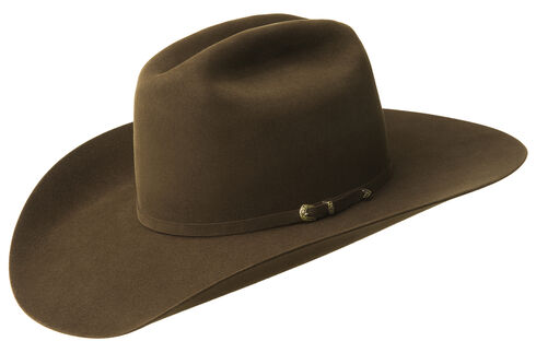 Bailey Men's Gage 10X Fur Felt Cowboy Hat, Brown, hi-res