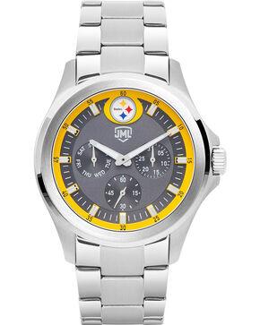 Jack Mason Men's Silver Pittsburgh Multi-Function Watch , Silver, hi-res