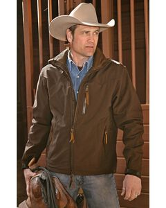 STS Ranchwear Men's Young Gun Brown Jacket - Big & Tall - 4XL, Brown, hi-res