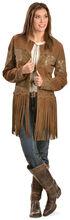 Scully Long Fringe Suede Coat, , hi-res