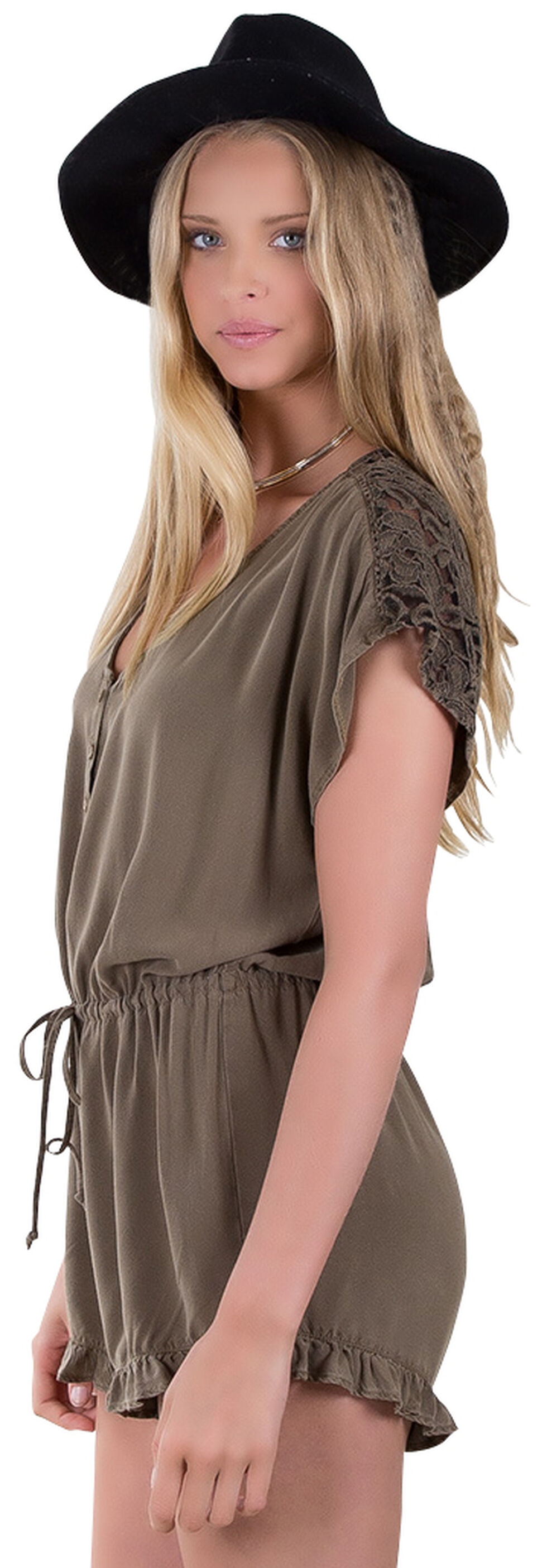 Others Follow Women's Just a Dream Romper , Khaki, hi-res