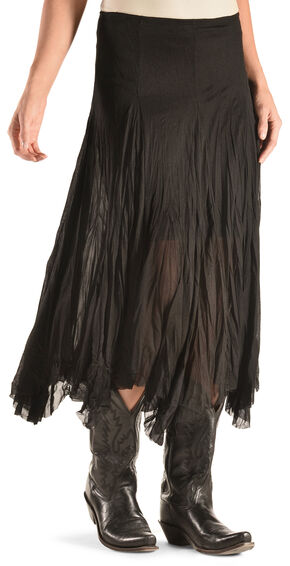 Wrangler Women's Black Fashion Maxi Skirt , Black, hi-res