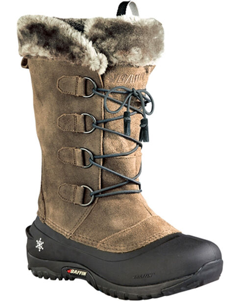 Baffin Women's Kristi Light Waterproof Boots - Round Toe , Taupe, hi-res