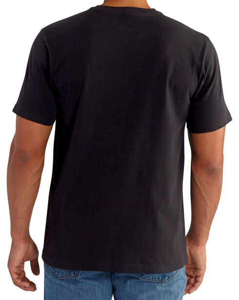 Carhartt Men's Black Lubbock Graphic Distressed Flag T-Shirt, Black, hi-res