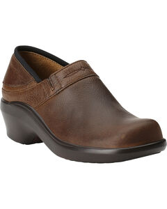 Ariat Women's Santa Cruz Leather Clogs, , hi-res
