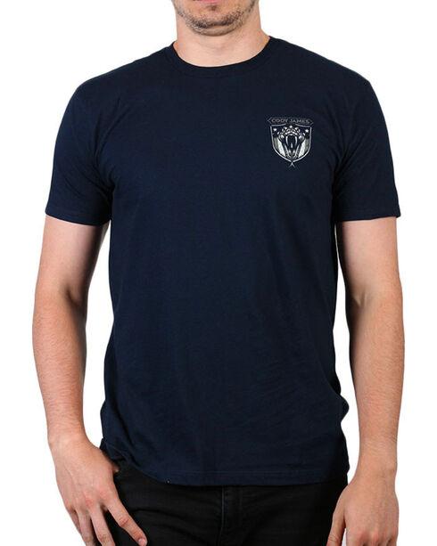 Cody James Men's Bite Back Short Sleeve T-Shirt, Navy, hi-res