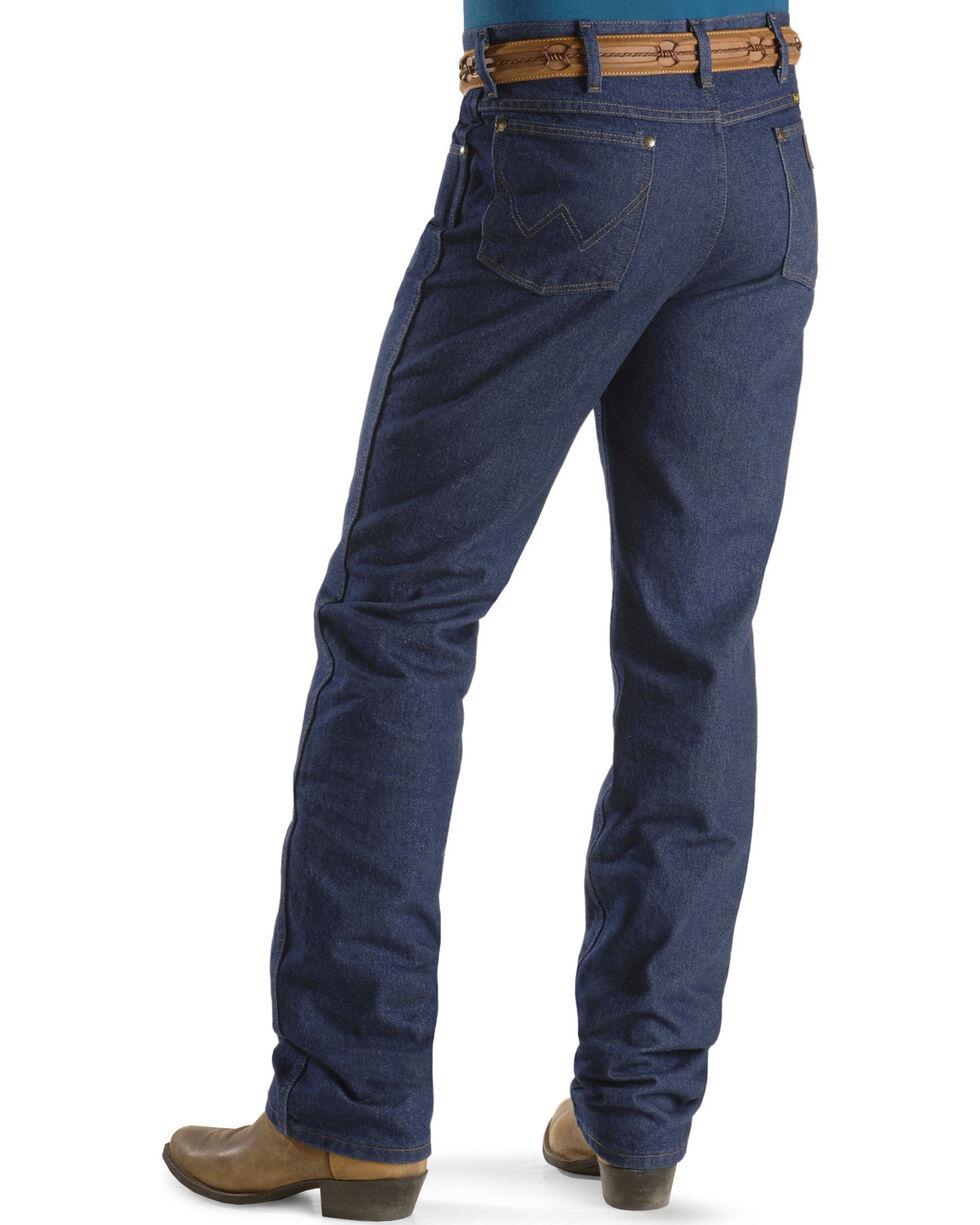 "Wrangler Jeans - Cowboy Cut 36 MWZ Slim Fit - 38"" Tall Inseam, Indigo, hi-res"