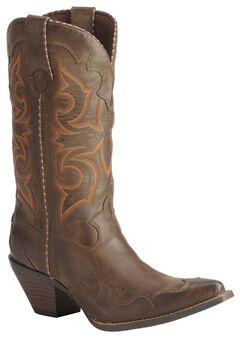 Durango Rock N' Scroll Cowgirl Boots, , hi-res