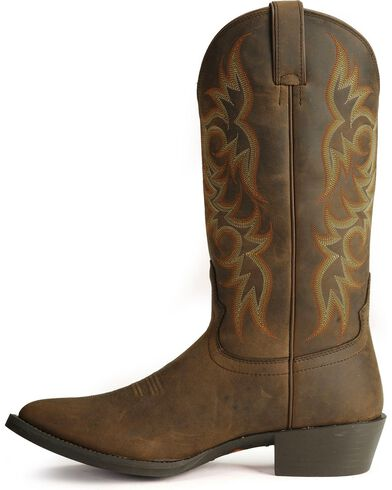 Justin Stampede Western Apache Cowboy Boot Med Toe Country Outfitter