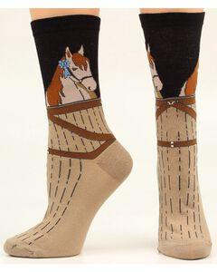 Ariat Horse Stable Crew Socks, , hi-res
