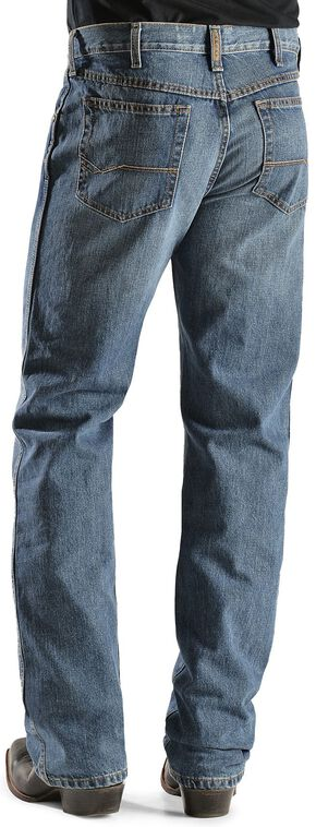 Ariat Denim Jeans - Heritage Medium Stonewash Relaxed Fit, Med Stone, hi-res