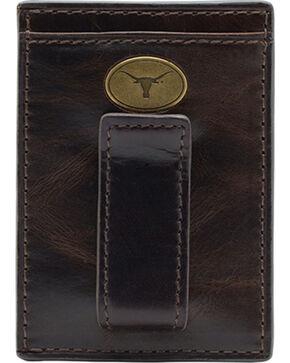 Jack Mason University of Texas Legacy Multicard Front Pocket Wallet , Brown, hi-res