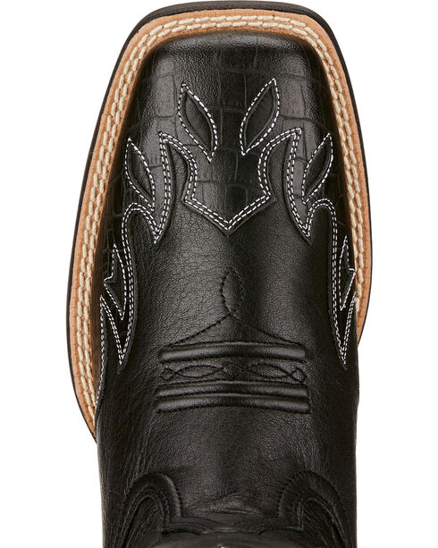 Ariat Sidekick Cowgirl Boots - Square Toe , Black, hi-res