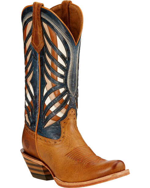 Ariat Gentry Performance Riding Cowgirl Boots - Square Toe , , hi-res
