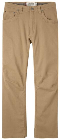 Mountain Khakis Men's Tan Camber 106 Pants , , hi-res