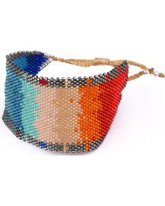 Kutula Kiss Women's Large Optic Rainbow Bracelet , Multi, hi-res