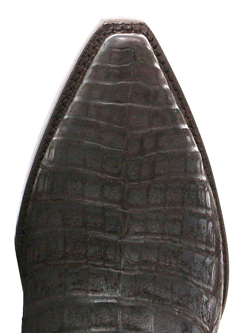 El Dorado Handmade Caiman Cowboy Boots - Snip Toe, Chocolate, hi-res