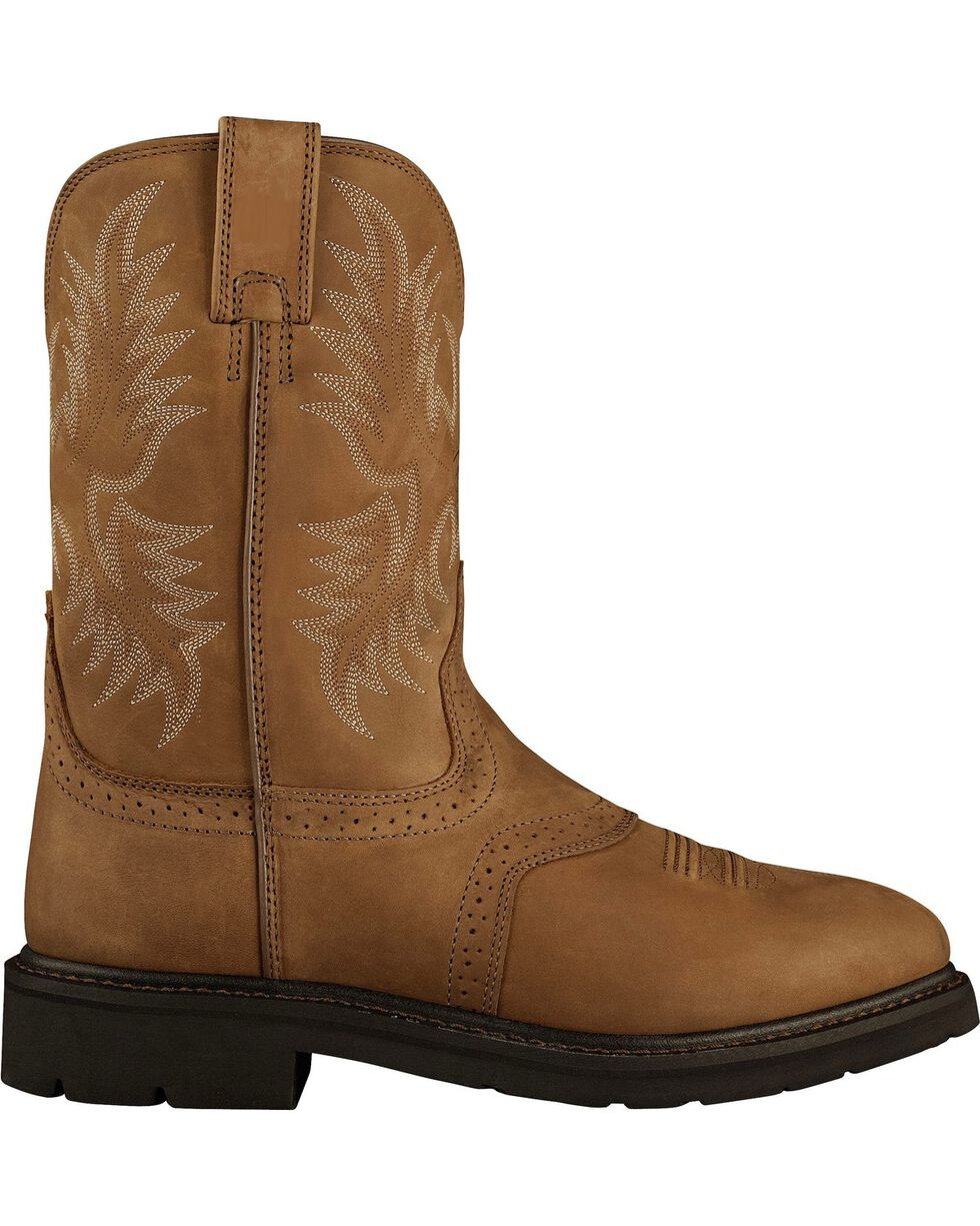 Ariat Sierra Saddle Western Work Boots, Aged Bark, hi-res
