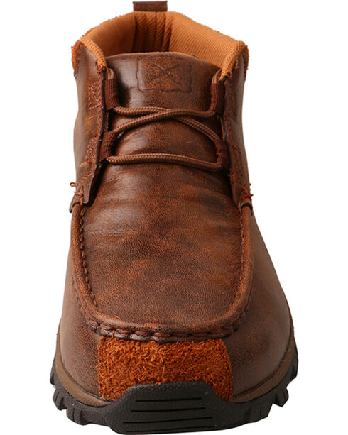 Twisted X Men's Brown Hiker Shoes, Brown, hi-res