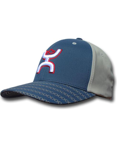 Hooey Men's Solo III Odessa Baseball Cap , Navy, hi-res