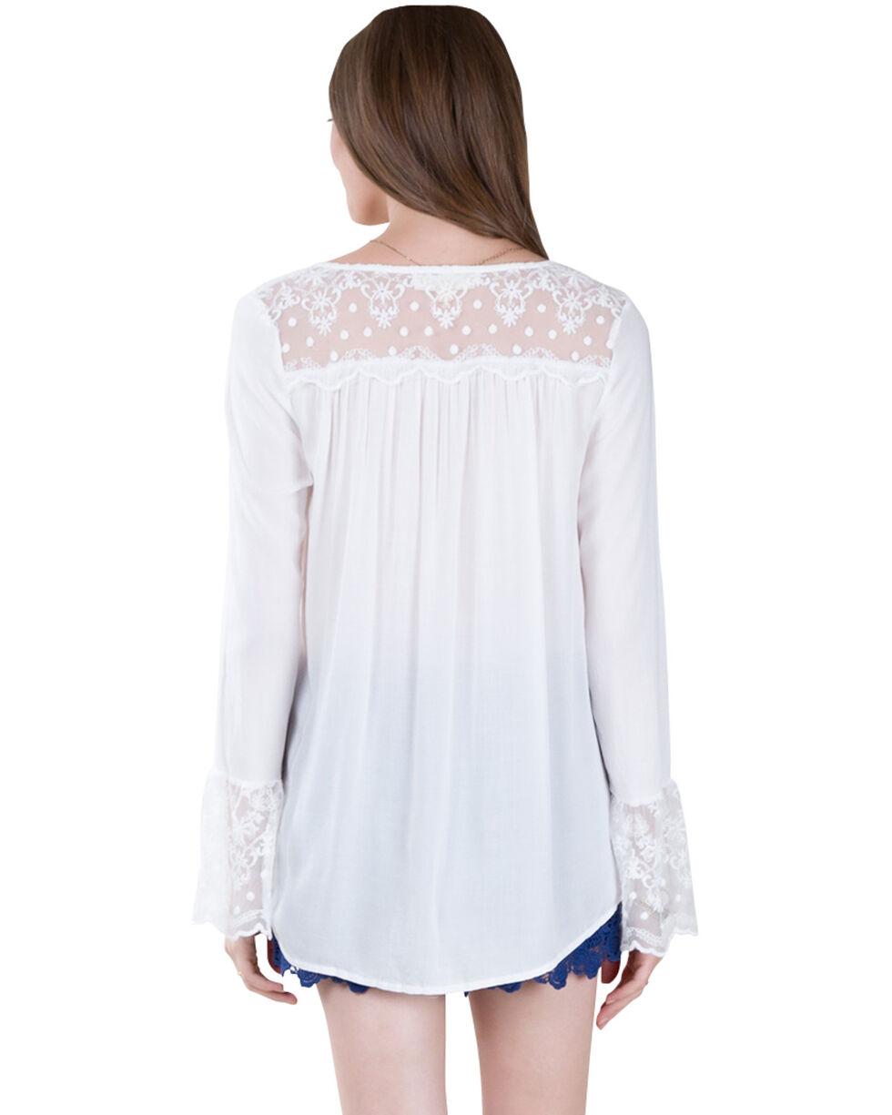 Black Swan Women's White Paris Top , White, hi-res