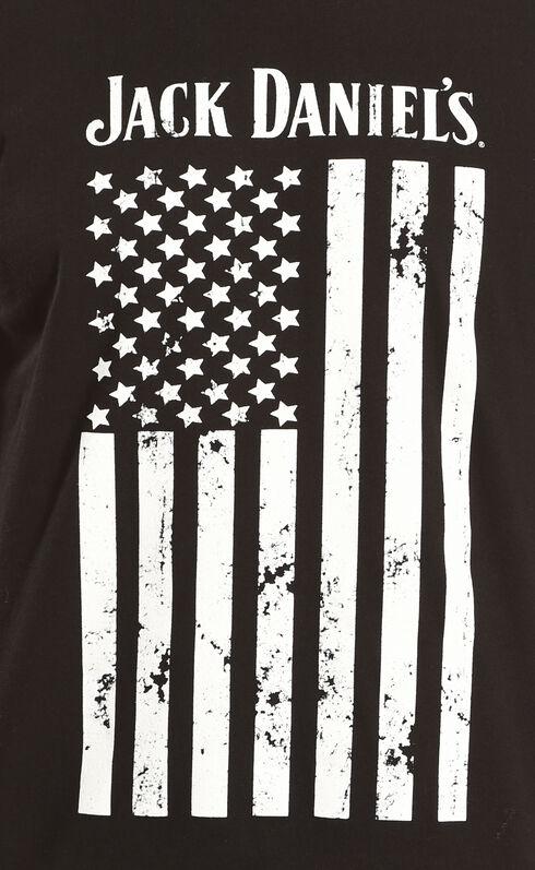 Jack Daniels Men's Black Flag Tee , Black, hi-res