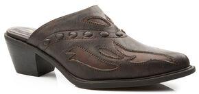 Roper Fashion Mule Slides, Brown, hi-res
