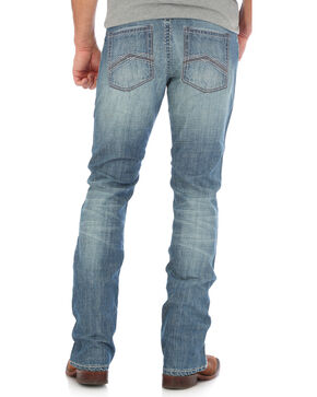 Wrangler Men's Blue 20X 44 Slim Fit Jeans - Straight Leg , Light Blue, hi-res