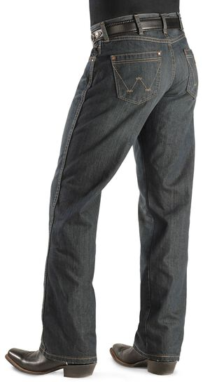 Wrangler Jeans - Worn Black Retro Boot Cut, Worn Black, hi-res