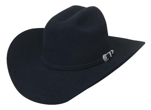 Bullhide True to the Game 10X Fur Felt Cowboy Hat, Black, hi-res
