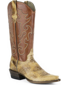 Stetson Women's Rosa Cowgirl Boots - Snip Toe, , hi-res