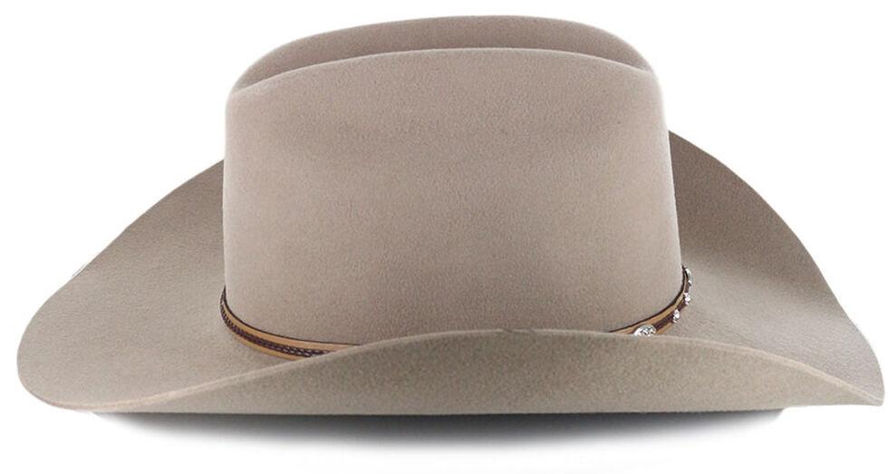 Cody James Denton 3X Pro Rodeo Brim Felt Cowboy Hat, Tan, hi-res