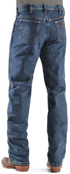 Wrangler Premium Performance Advanced Comfort Mid Stone Jeans, Med Stone, hi-res