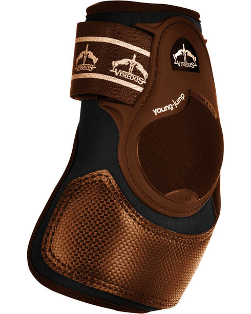 Veredus Young Jump XPRO Rear Ankle Boots, Brown, hi-res