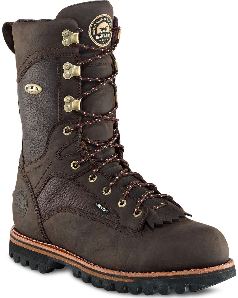 Irish Setter by Red Wing Shoes Men's Elk Tracker WP Insulated Hunting Boots , Brown, hi-res